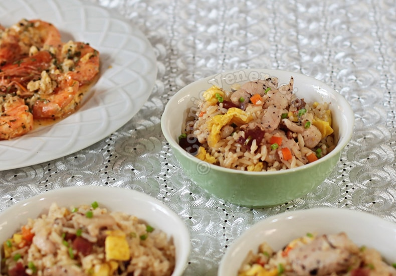 Chicken Fried Rice | casaveneracion.com