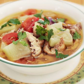 Chicken Soup With Bottle Gourd