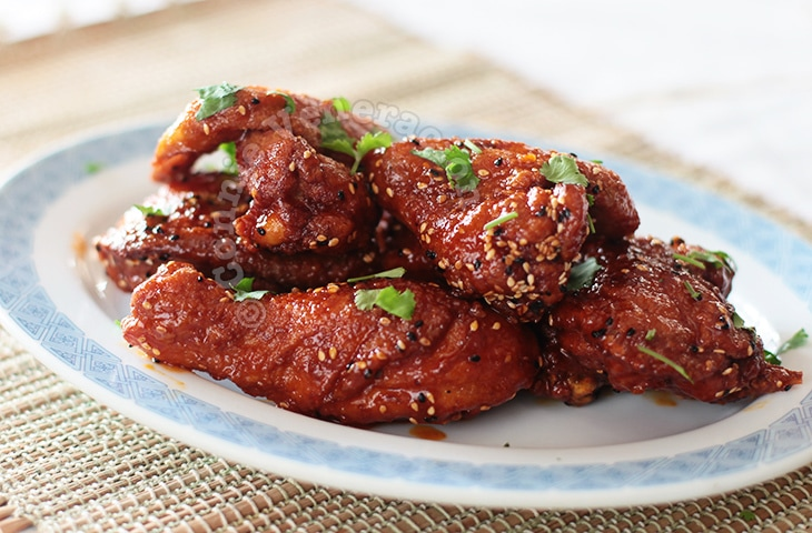 Honey Chili Fried Chicken