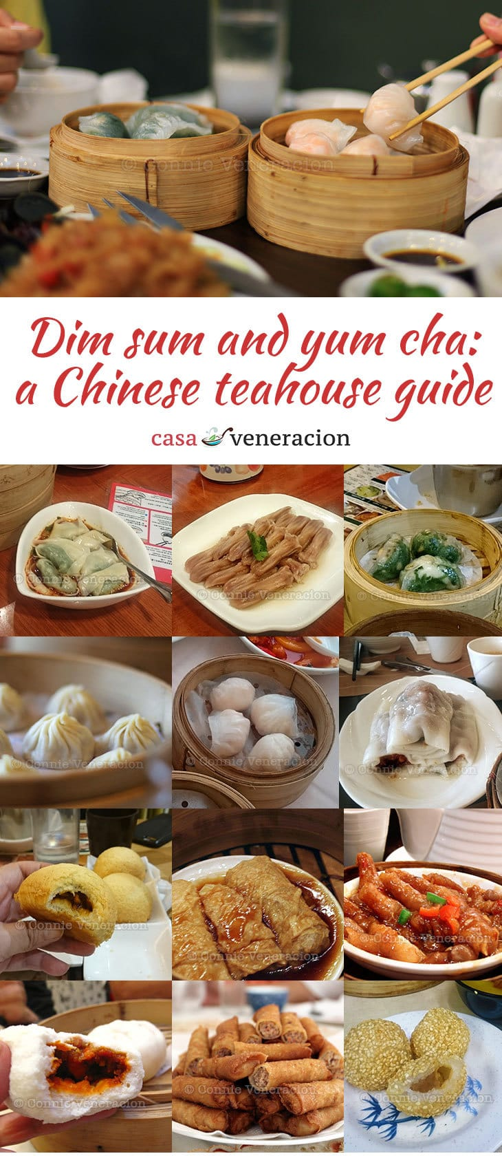There are some 2,000 known dim sum dishes served around the world. From duck tongue to zongzi, some are steamed others fried and others are baked. Let's meet some of them.