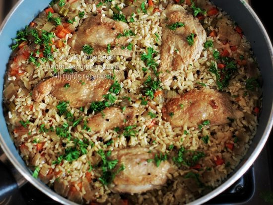 One-pot Chicken and Rice Meal
