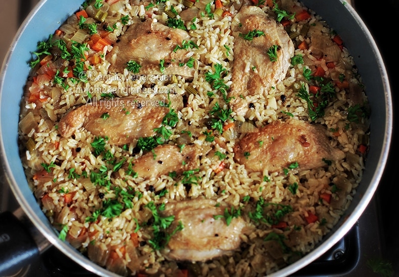One-pot Chicken and Rice Meal | casaveneracion.com
