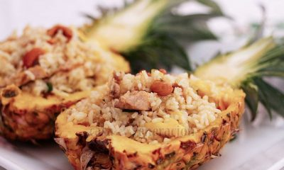 Thai Pineapple Chicken Fried Rice