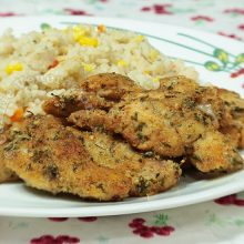 Herbed Chicken Fillets