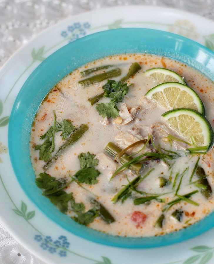 Thai Fish Coconut Milk Soup (Tom Kha Pla)