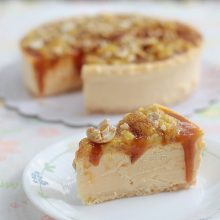 Alex's Banoffee Cheesecake