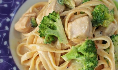 Chicken Broccoli Pasta With Cream Cheese Sauce