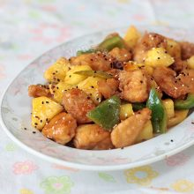 10-minute Sweet Chili Pineapple Chicken