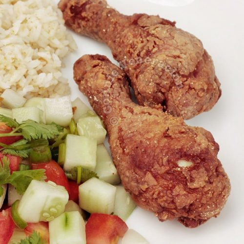 Fried Chicken With Asian Spices