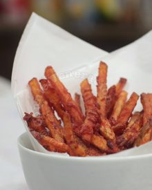 Chili-battered French Fries