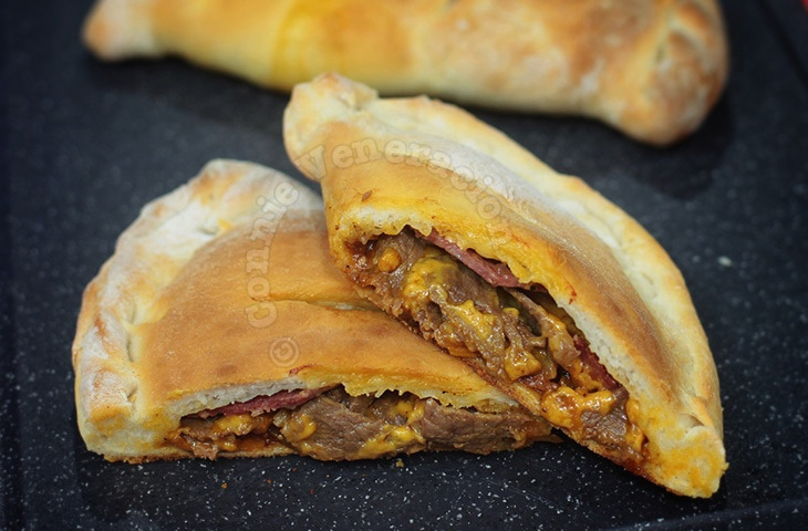 Alex's Home-baked Calzone