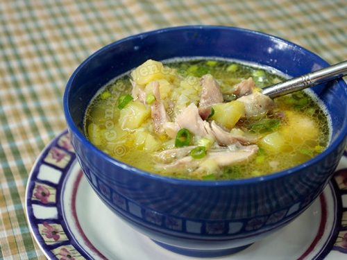 Chicken, Leeks and Potato Soup