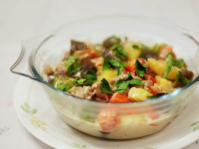 20-minute Chicken and Vegetables With Coconut Cream