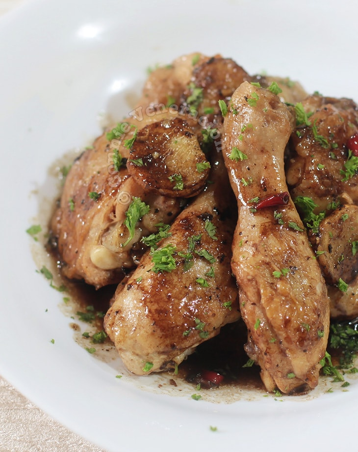 Ginger Chili Balsamic Chicken