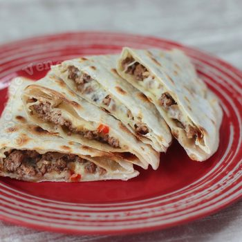 Alex's Beef Quesadillas (While Watching the Rio 2016 Summer Olympics)