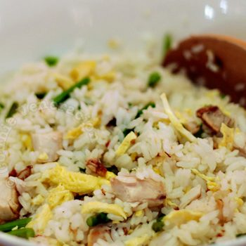 Chicken and Asparagus Fried Rice