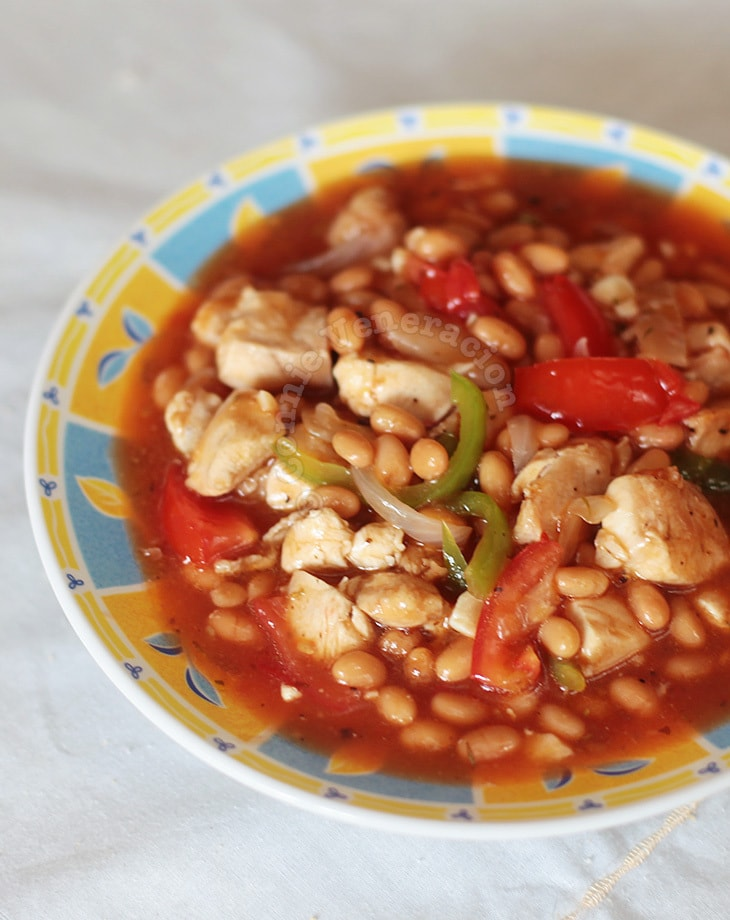 Chicken and Beans Stew