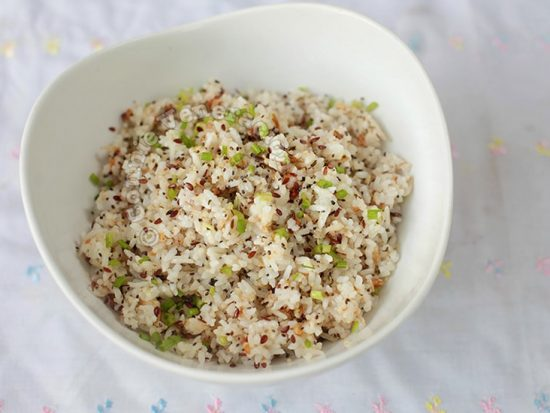 Herb-and-seed Fried Rice