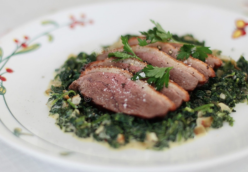 Roasted Duck Breast | casaveneracion.com