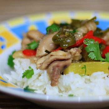 Vietnamese-style Chicken and Pineapple Stir Fry