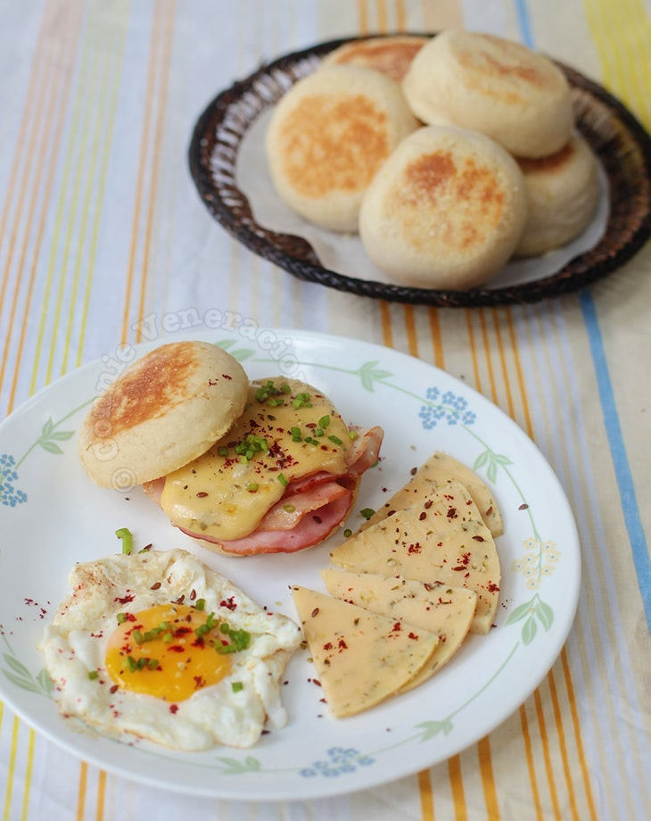 Alex's Homemade English Muffins