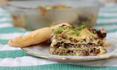 Alex's Lasagne With Pesto and White Sauce
