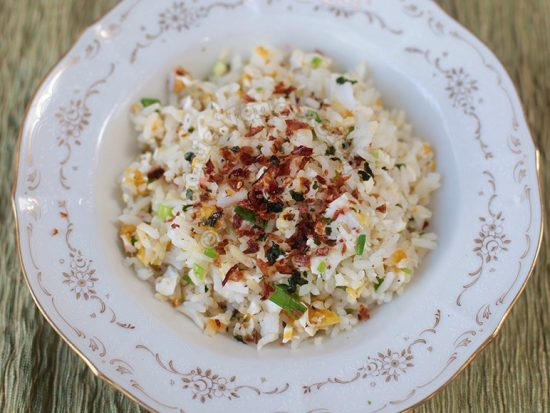 Salted Egg Fried Rice