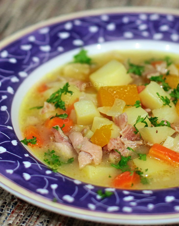 Chicken and Vegetable Chowder