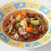 Slow Cooker Filipino Picadillo Soup