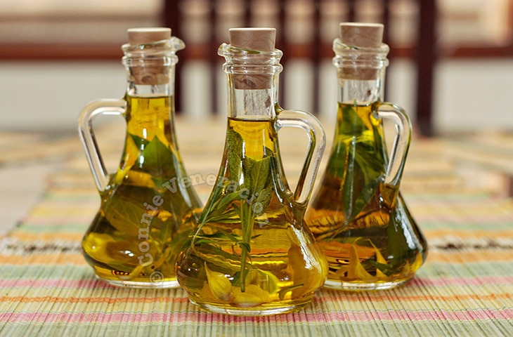 Handmade Holiday Food Gifts: Herb-infused Olive Oil