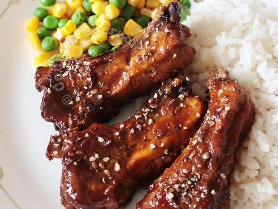 Glazed Baby Back Ribs