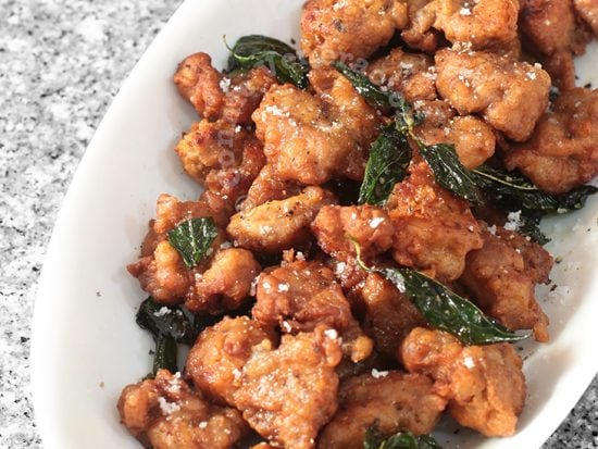 Salt and Pepper Chicken