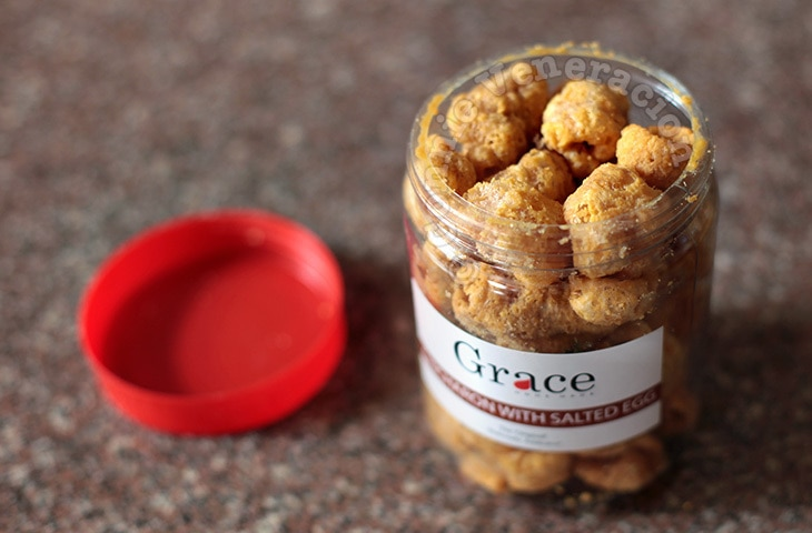 Grace Chicharon With Salted Egg