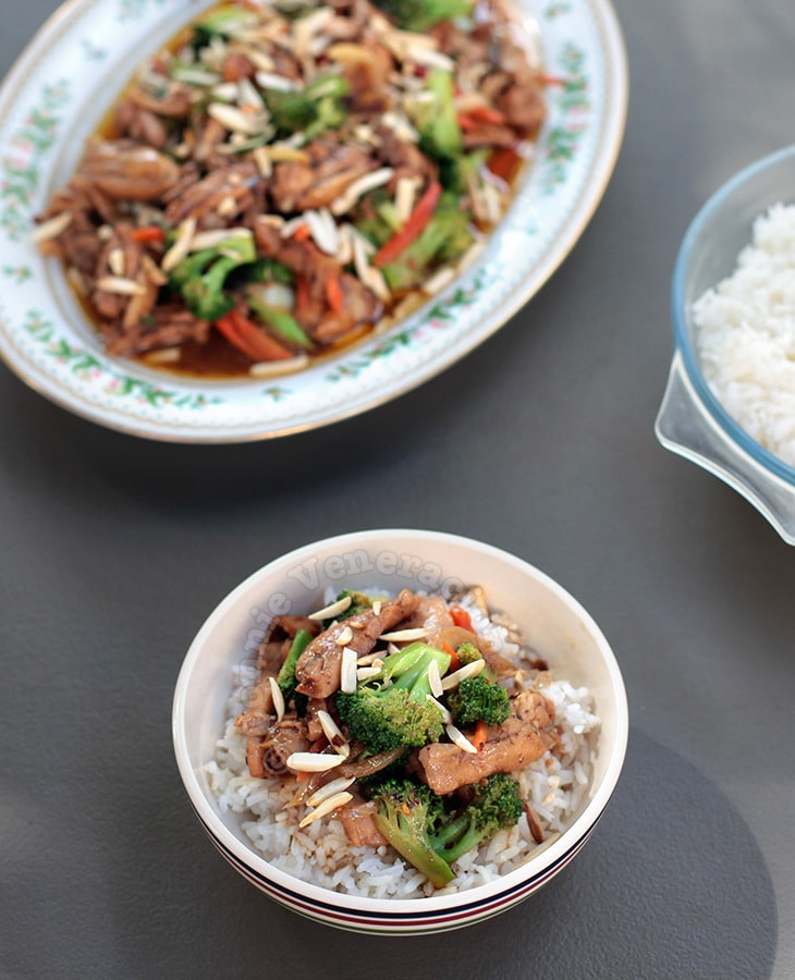 Chili Chicken Broccoli Stir Fry