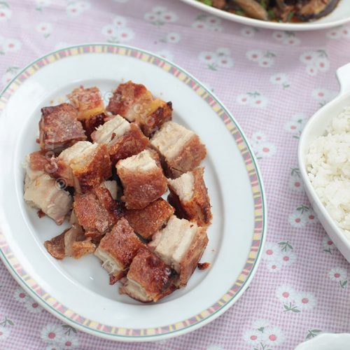 Chinese Crispy Roasted Pork Belly