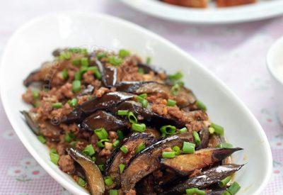 Chinese Chili Garlic Eggplants