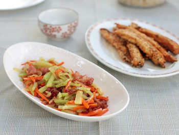 Sautéed Chayote With Bacon