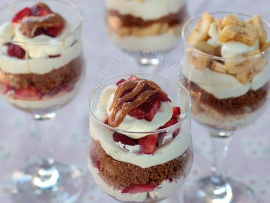 No-bake Fruit and Cheese Dessert