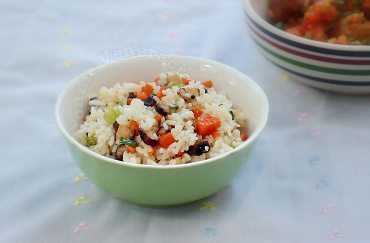 Shiitake Fried Rice | casaveneracion.com