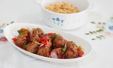 Meatballs With Sweet and Sour Sauce