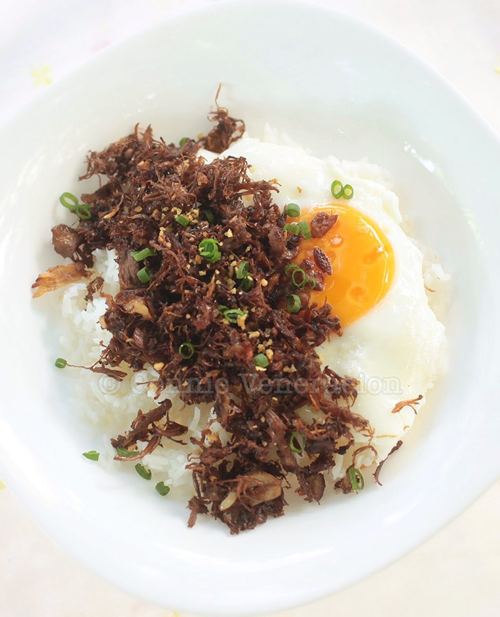 Crispy Fried Adobo Flakes