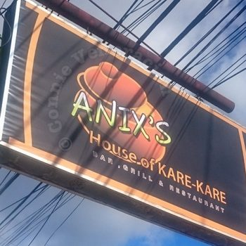 At Anix's House of Kare-kare, the Crispy Pata is Great Too!