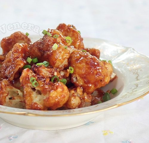 Soy Chili Honey Garlic Cauliflower
