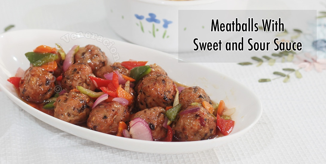 Meatballs With Sweet and Sour Sauce | casaveneracion.com