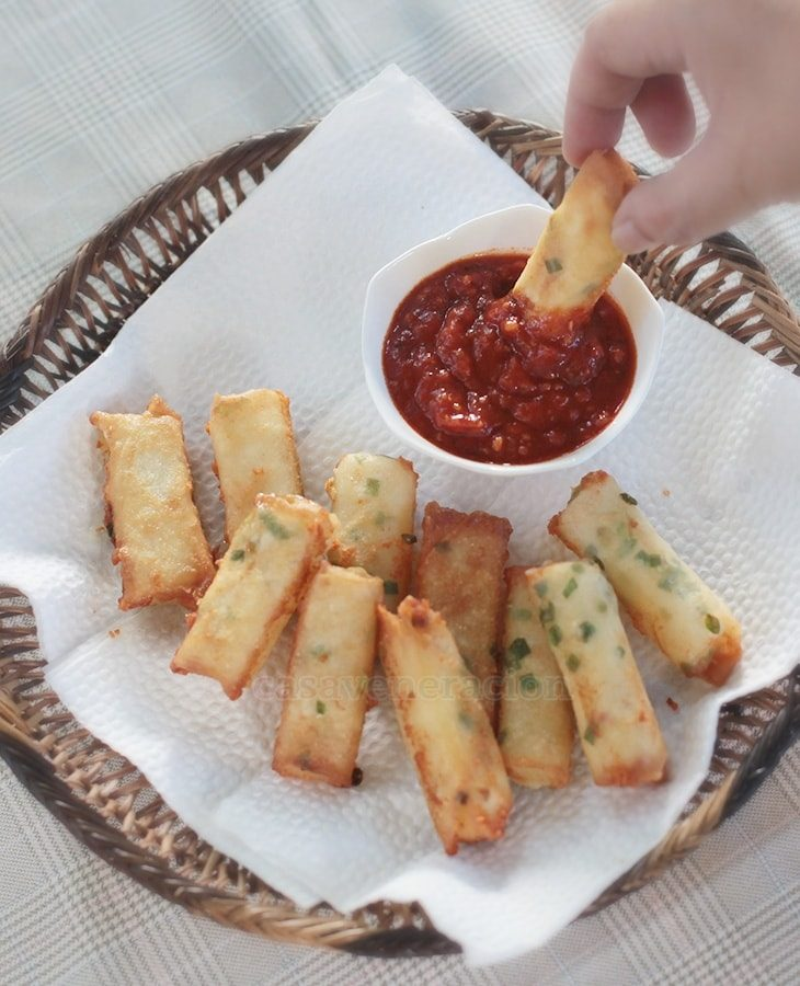 Cheese Sticks, Filipino Style