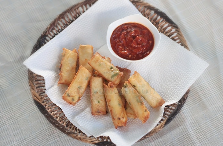 Cheese Sticks, Filipino Style | casaveneracion.com