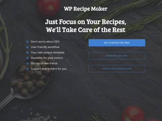 Goodbye, Easy Recipe Plus. Hello, WP Recipe Maker.