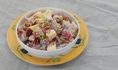 Chicken Salad With Pecans, Grapes and Pineapple