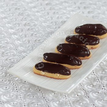 Alex's Dark Chocolate Eclairs