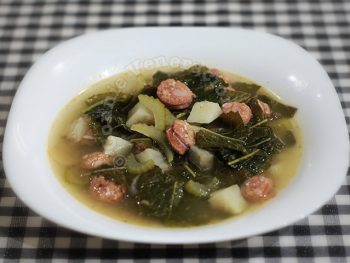 Kale, Sweet Potato and Sausage Soup